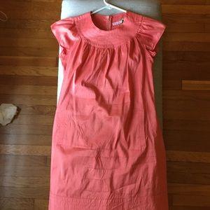 Coral calypso dress